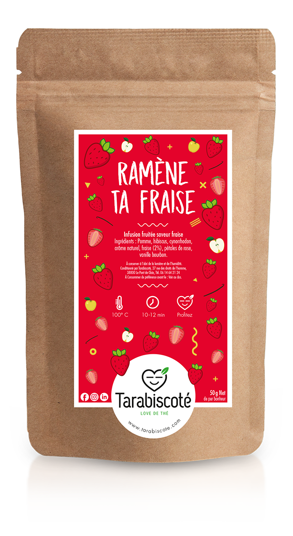 infusion fraise